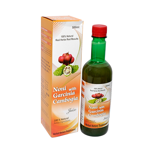 Noni with Garcinia Cambogia Juice