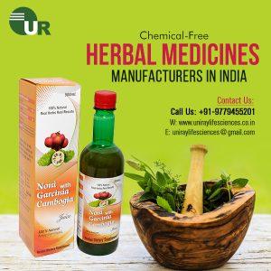 Herbal Medicine Manufacturer in Chandigarh