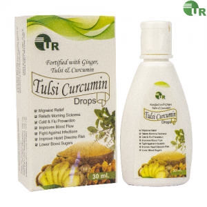 Uniray Tulsi Curcumin Ginger Drops