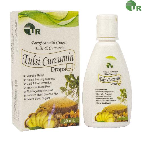 Uniray Tulsi Curcumin Ginger Drops