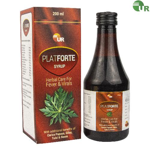 Uniray Plateforte Syrup