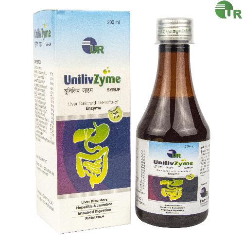 uniray Unilivzyme Syrup