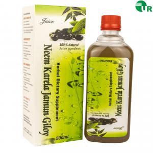 Neem Karela Jamun Giloy Juice by Uniray lifescinces