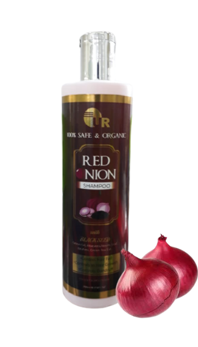 herbal onion shampoo for hair fall control