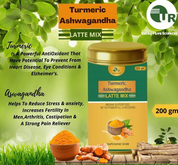 Turmeric Ashwagandha Latte